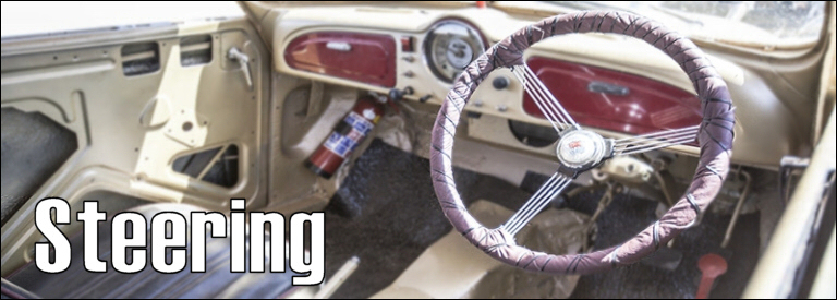 Rat rod steering